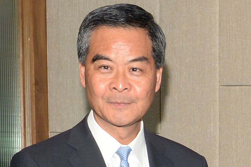 Mr Leung Chun-ying.