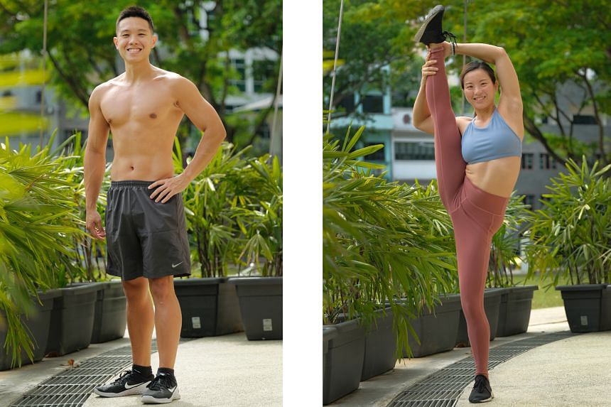 Left: Nicholas Teo, 26. Right: Lynne Soon, 31.