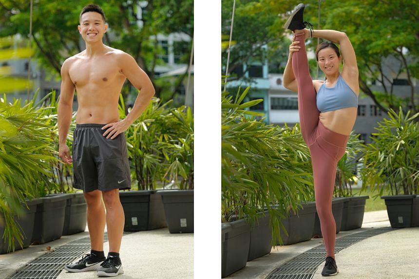 Left: Nicholas Teo, 26. Right: Lynne Soon, 31.