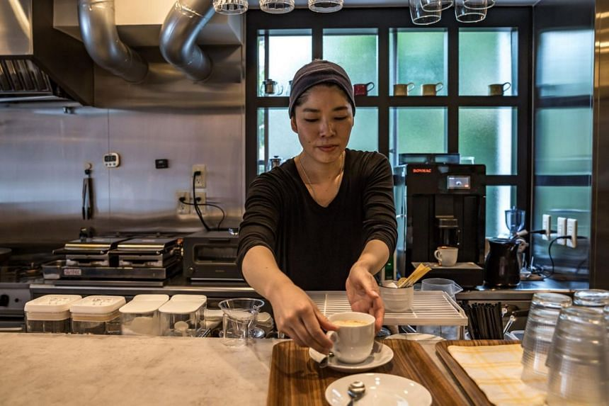 Ms Kaori Shibuya said some women choose marriage because they feel vulnerable on their own. But she started her own business two years ago - a cafe - and is confident she can support herself.
