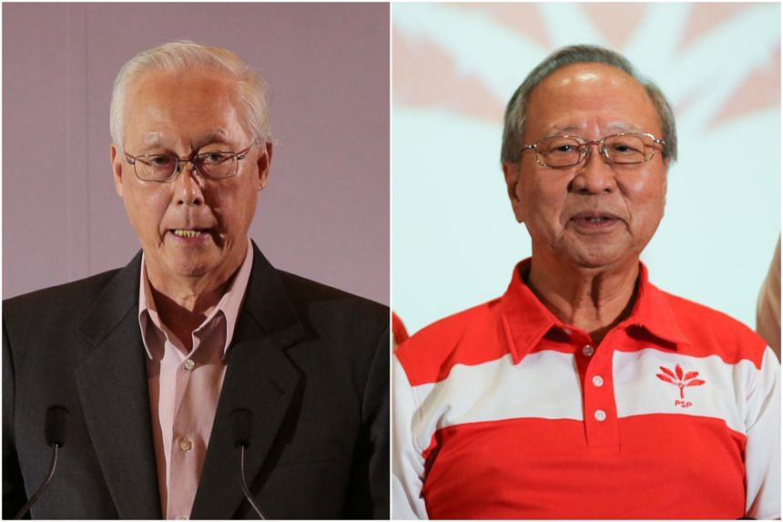 "Emeritus Senior Minister Goh Chok Tong said his former party colleague Tan Cheng Bock had ""lost his way"", a day after Dr Tan officially launched his Progress Singapore Party."