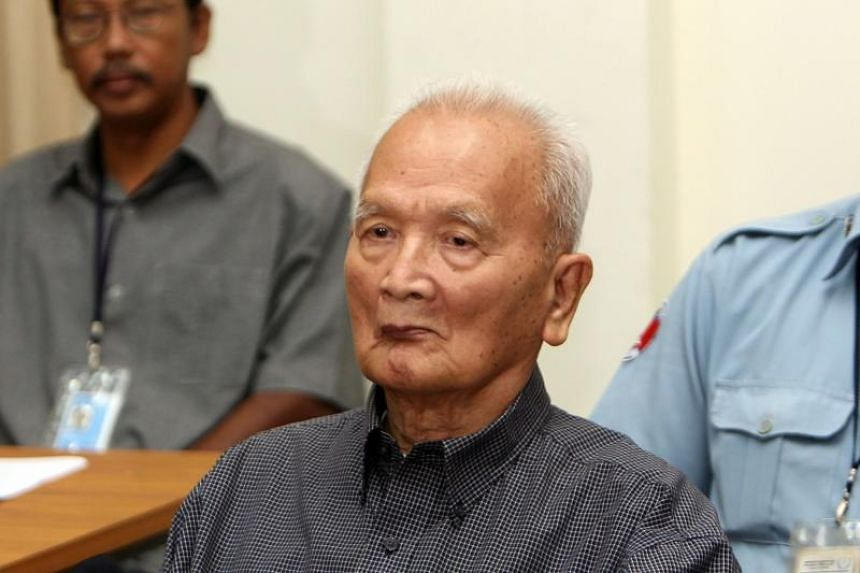 Former Khmer Rouge leader Nuon Chea died aged 93 on Aug 4, 2019, said a spokesman for the Cambodian tribunal where he was convicted of genocide and crimes against humanity.
