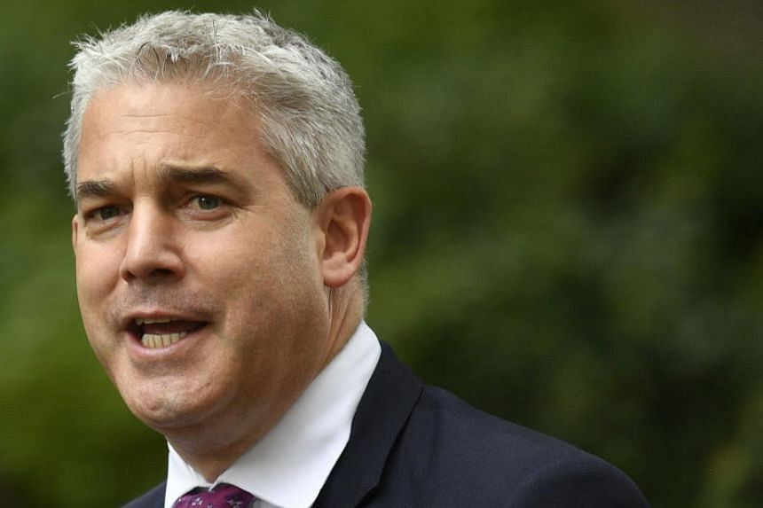 British Brexit Secretary Stephen Barclay said the EU needed to change the terms of the Brexit deal as Britain's parliament would no longer accept the current one.