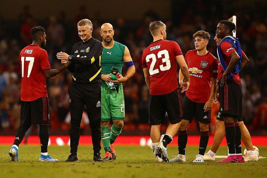 The honeymoon is over for Ole Gunnar Solskjaer (above, in black), whose appointment as Manchester United's full-time manager has been questioned following a limp end to their season. It will not be roses for Chelsea's Frank Lampard either, with the c