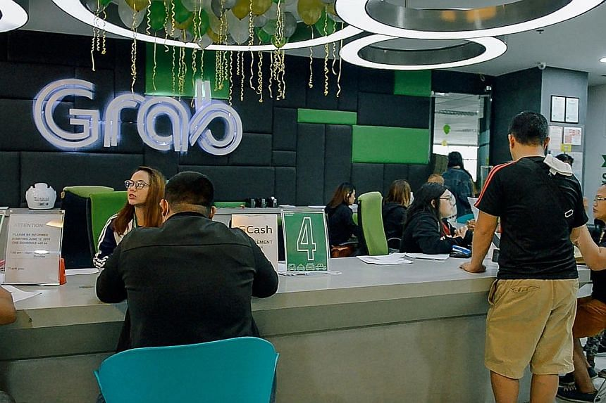 Grab's office in Manila. The ride-hailing firm, the most valuable South-east Asian unicorn at US$14.3 billion (S$19.7 billion), has grown exponentially since moving its HQ to Singapore in 2014. It has expanded by targeting multiple markets at the sam
