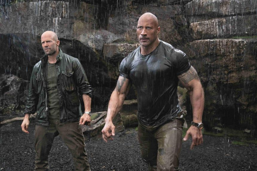The Fast & Furious franchise features Dwayne Johnson and Jason Statham.