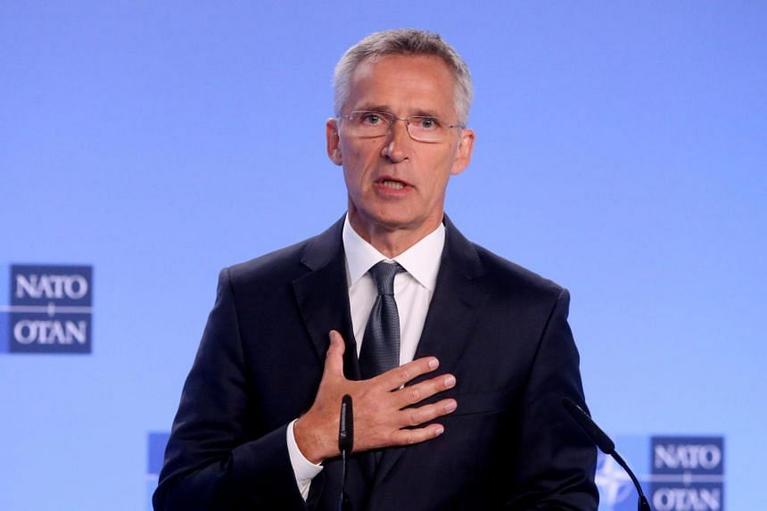 Society has to stand up for values of freedom, openness and tolerance, said Nato secretary general Jens Stoltenberg.