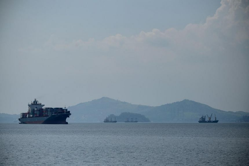 Subic Bay, a former US military base, is about 260 km from the Chinese-controlled Panatag Shoal in the West Philippine Sea, waters within the country's exclusive economic zone in the South China Sea.