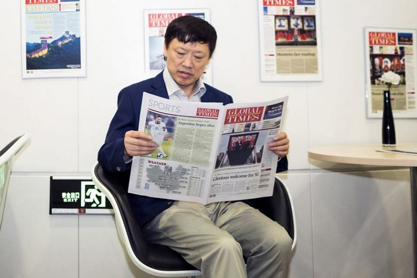 As the top editor of The Global Times, Mr Hu Xijin leads a popular tabloid controlled by China's ruling Communist Party.