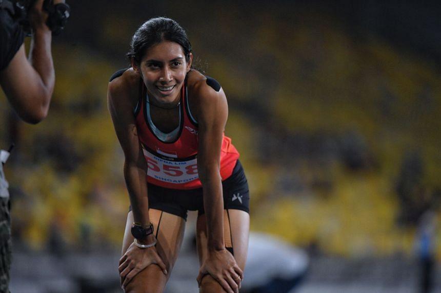 Dipna Lim-Prasad, retired national hurdler