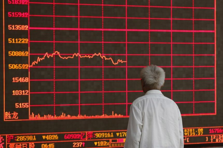 MSCI's broadest index of Asia-Pacific shares outside Japan sank 2.1 per cent to depths not seen since late January while China's blue-chip index fell 0.8 per cent.