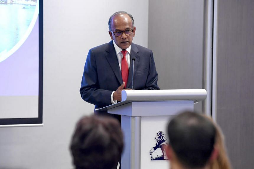Law and Home Affairs Minister K. Shanmugam told Insol's launch event at the Maxwell Chambers Suites that Singapore has the largest concentration of regional headquarters in the Asian region.