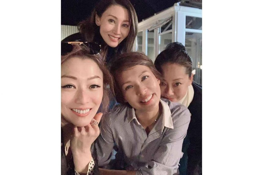 Jade Lui posted photos of herself with Sammi Cheng, Michelle Reis  Cheng and Jess Zhang on Aug 4, 2019.