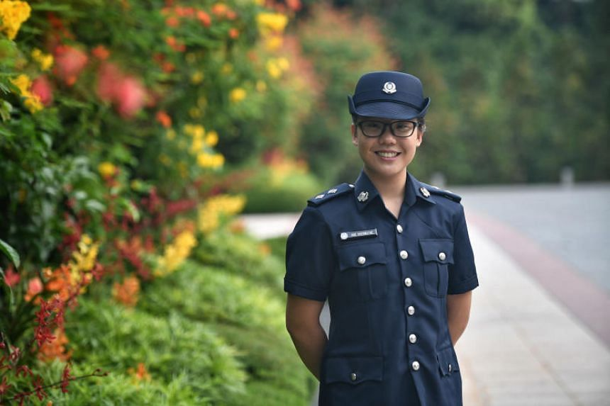 Ms Shermaine Ang is the first woman to receive the Singapore Police Force Scholarship, the most prestigious scholarship awarded by the Public Service Commission.