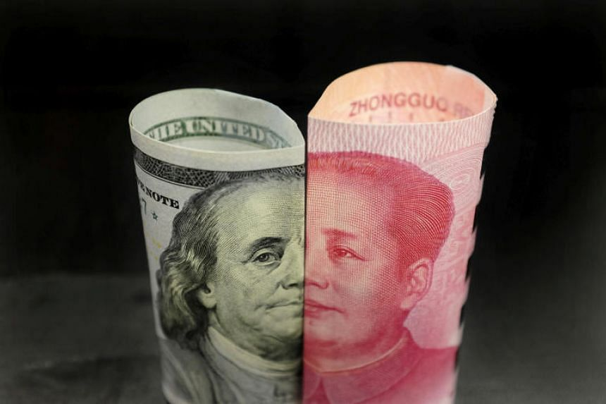 China's Yuan Tumbles Past 7 Per Dollar for First Time Since 2008