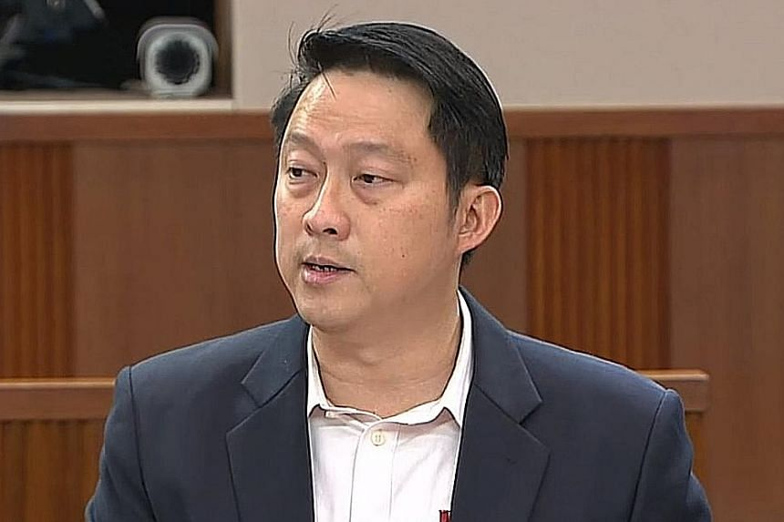 SENIOR MINISTER OF STATE FOR TRANSPORT LAM PIN MIN.