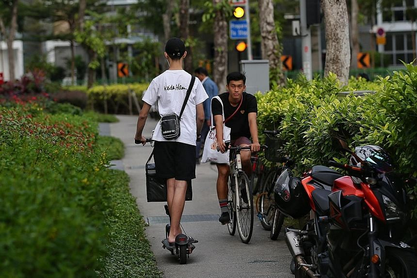 By July 1 next year, it will be illegal to ride a non-certified vehicle on public paths. While pedestrians welcomed the new safety measures, at least one suggested that personal mobility devices should have rear number plates to make errant users eas
