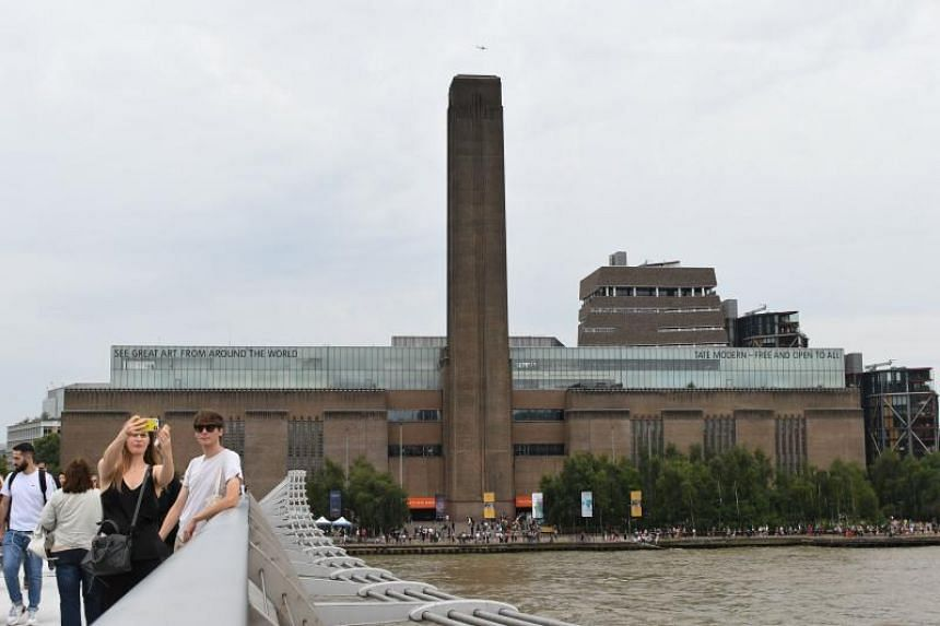 The contemporary art museum on the banks of the River Thames, Britain's most popular visitor attraction, was evacuated but reopened on Monday.