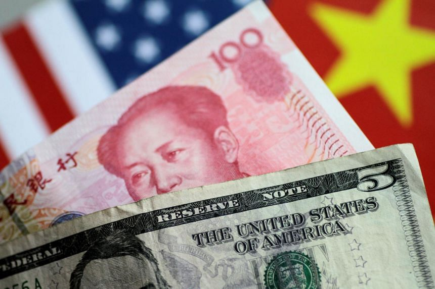 China's central bank let the yuan slip below the psychologically important level of seven yuan to the dollar on Aug 5, 2019.