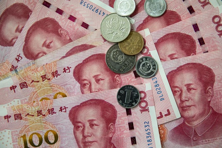 The People's Bank of China set its daily reference rate at 6.9683 per dollar, compared with an estimated 6.9871 according to the average of forecasts by 19 traders and analysts in a Bloomberg survey.