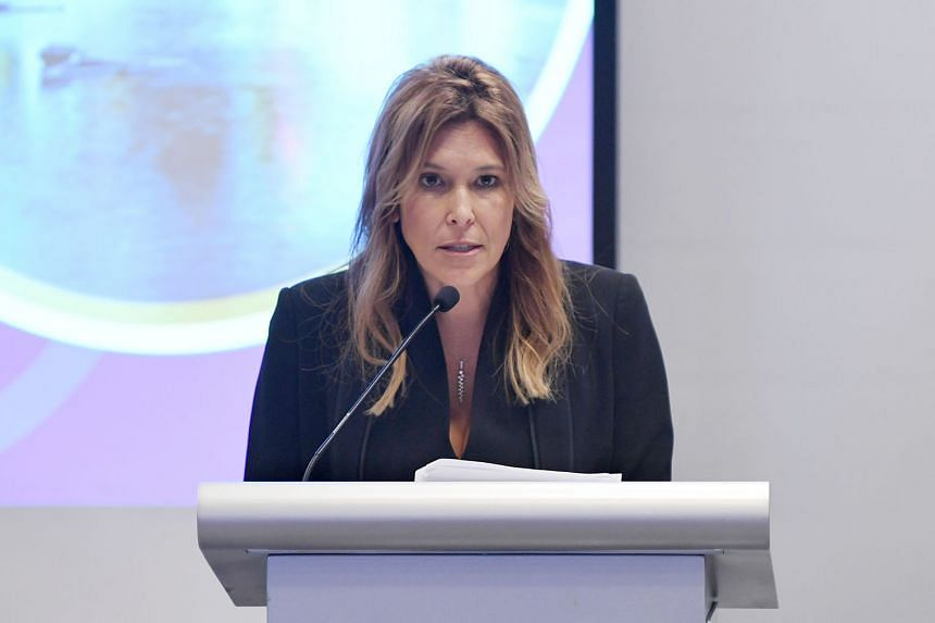 Insol International president Julie Hertzberg said the opening of Insol's Asia Hub here shows its commitment to deepen its engagement in the region. ST PHOTO: KHALID BABA