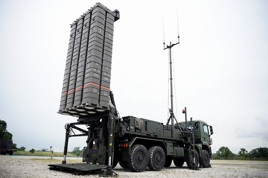 The Aster-30 missile system will be making its first public appearance as part of the mobile column at this year's National Day Parade. It is more effective and requires much less manpower to operate compared to the current I-Hawk system that it will