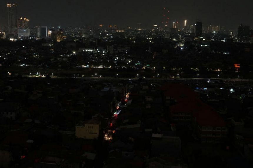 The blackout caused chaos in the streets of Jakarta and West Java's provincial capital of Bandung, paralysing traffic lights and public transport, as well as cellphone and banking services.