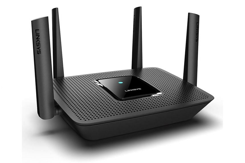 The Linksys MR8300 configured in a mesh network will improve the wireless connection in the farthest part of the home.