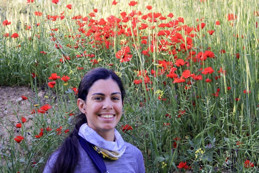 A 2018 photo shows Natalie Christopher, a 35-year-old British scientist who went missing on the Aegean island of Ikaria.
