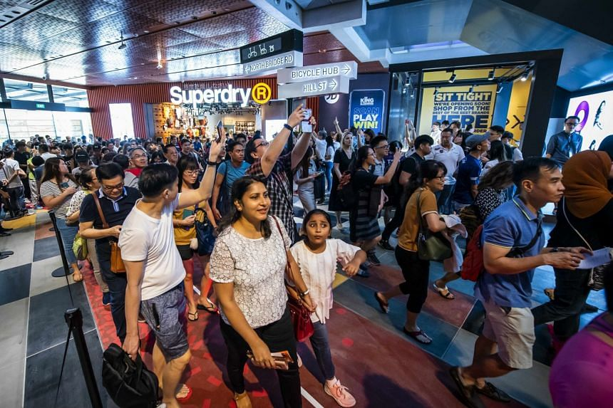 CapitaLand's Funan mall reopened its doors to shoppers on June 28, 2019, after three years of redevelopment.