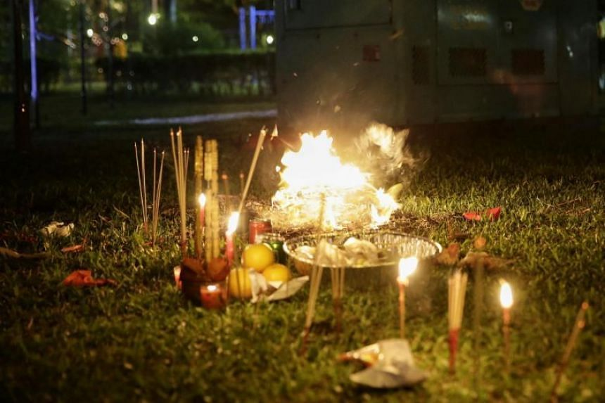 In the latest Institute of Policy Studies-OnePeople.sg survey, at least four in 10 Singaporeans indicated that they sometimes, or more often, encountered and were upset by the burning of religious items in their estate.