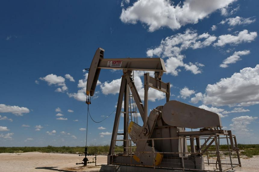 Brent oil is down almost 10 per cent so far this month as the US-China trade war clouds the outlook for global economic growth, eclipsing concerns crude flows from the Middle East may be disrupted.