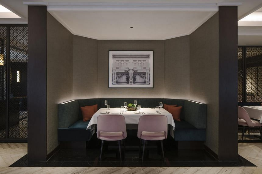 Tablescape is not a fine-dining restaurant. In fact, it looks rather nondescript with its grey walls and uninspiring dim lighting in the evening.