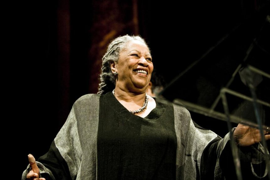 In a picture from Oct 20, 2009, author Toni Morrison is seen at a party in New York. The Nobel laureate died aged 88.