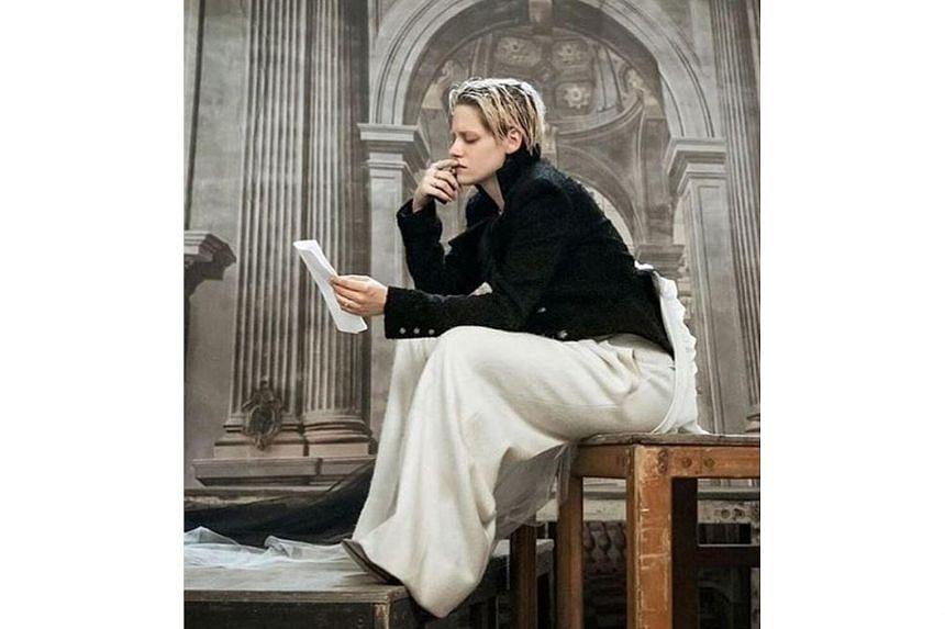 Kristen Stewart (above) in the 2020 Pirelli calendar photo shoot by Paolo Roversi.