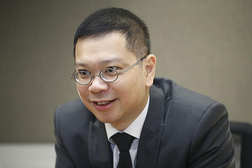 SGX REGCO CHIEF EXECUTIVE TAN BOON GIN.