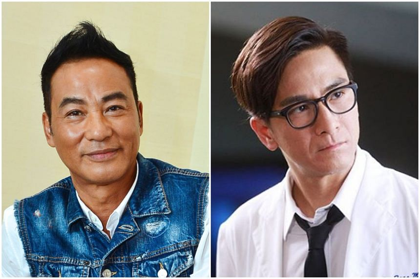 While Simon Yam (left) has since said he will be selective about future public appearances in the wake of the attack, Hong Kong celebrity Kenneth Ma has been holding concerts in China.