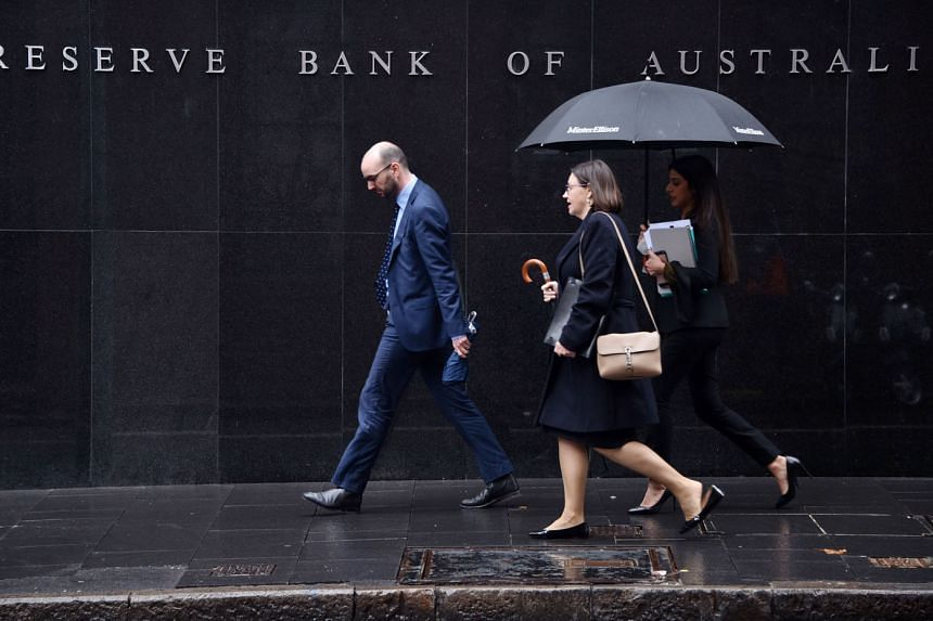 Bets that the Reserve Bank of Australia will ease policy jumped after its New Zealand counterpart cut its benchmark by a deeper-than-expected 50 basis points, saying that it was trying to pre-empt the impact of slowing global growth.