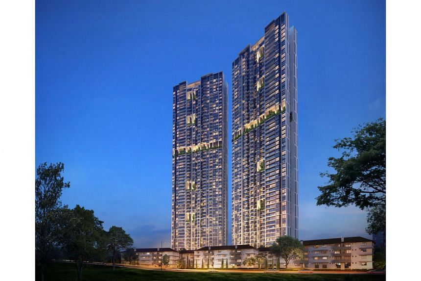 An artist's impression of Avenue South Residence, an upcoming development by UOL Group.