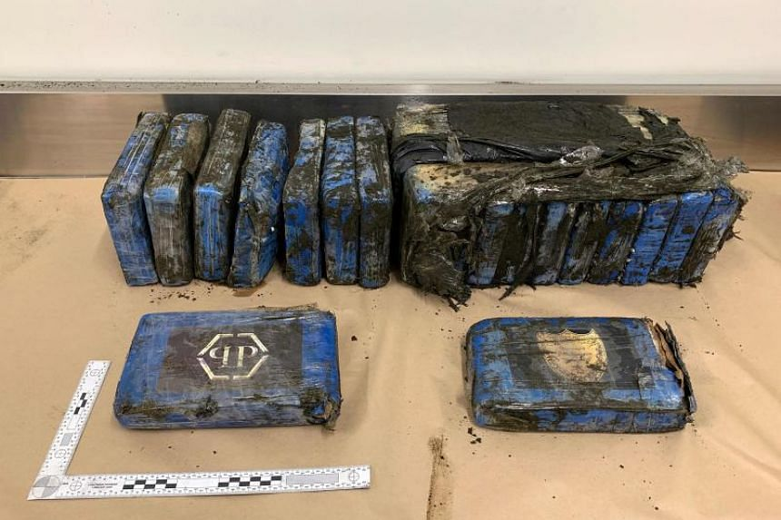 Police were called to Bethells Beach in West Auckland when packages of the drug were found along the shoreline.