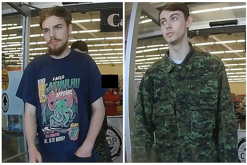 Kam McLeod (left) and Bryer Schmegelsky were charged with the murder of a lecturer and were suspects in two other killings in Canada.