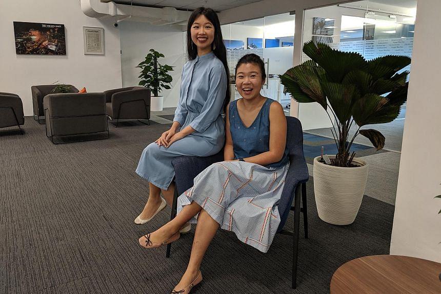 Life writers Olivia Ho (above left) and Melissa Sim.