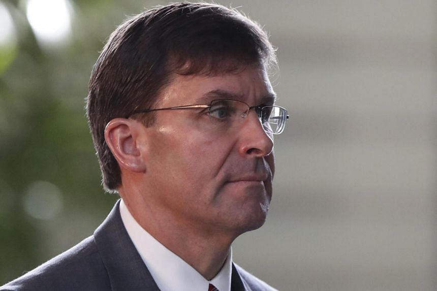 South Korea is US Defence Secretary Mark Esper's last stop on a trip that has also included visits to Australia, Japan and Mongolia.