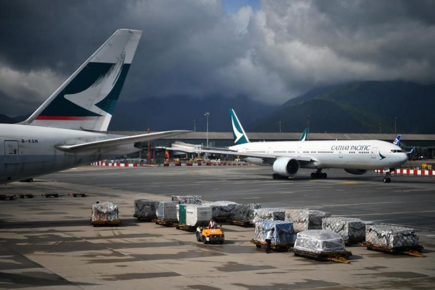 Cathay Pacific has been Hong Kong's flag carrier since the colonial era.
