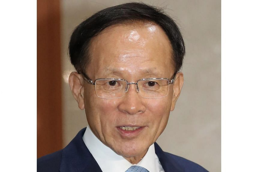 Mr Lee Soo-hyuck is a former deputy foreign minister and first deputy director of the National Intelligence Service.