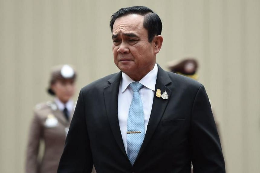 Thailand's Prime Minister Prayut Chan-o-cha had omitted a phrase in the oath of office in which he was supposed to pledge to uphold every aspect of the Constitution.