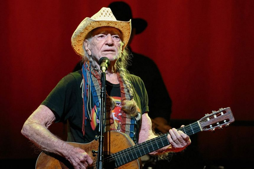 A 2018 photo shows Willie Nelson performing in Austin, Texas.