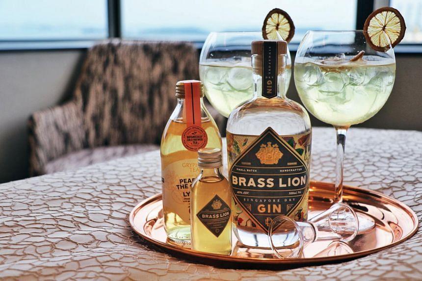 Oakwood Premier OUE offers a gin-themed weekend staycation package.