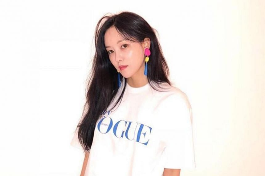 Hyomin said the Lamborghini was from a company which allowed her to use it for eight months as a form of product endorsement.