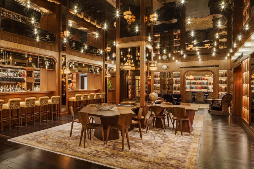 Guests can borrow from the 3,000 titles on loan at Six Senses Maxwell's Cook and Tras social library, which doubles up as a bar and restaurant.